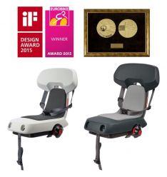 Fotelik rowerowy na bagażnik GUPPY Junior CFS  do 35 kg