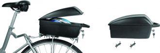 Kufer rowerowy na bagażnik w systemie DFS