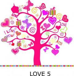 Osłona koła - motyw LOVE